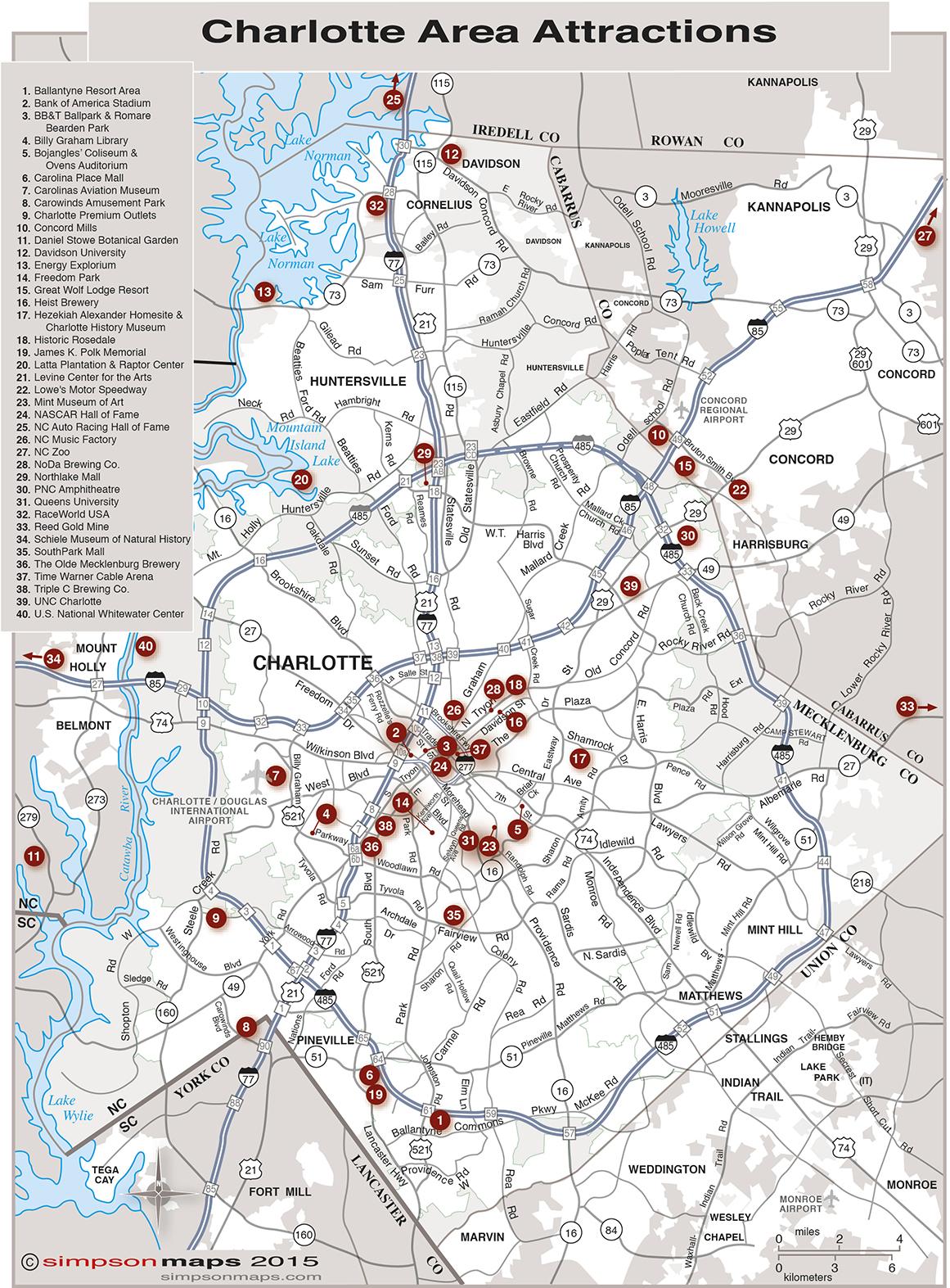 Maps Charlotte Chamber