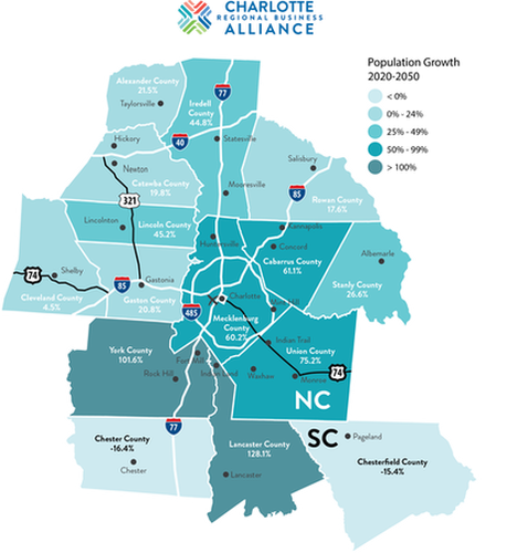 The Charlotte Region in 2050