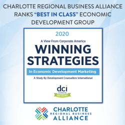 "Charlotte Regional Business Alliance named ""Best in Class"" Economic Development Group"